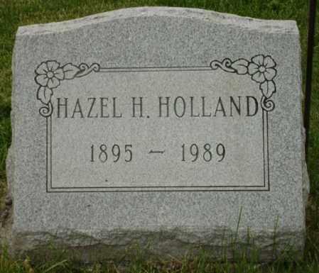 BOYLE HOLLAND, HAZEL H. - Champaign County, Ohio | HAZEL H. BOYLE HOLLAND - Ohio Gravestone Photos