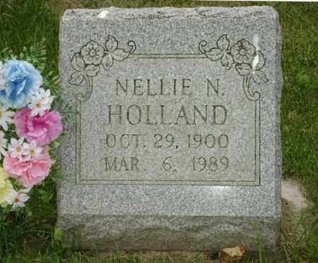 LONGBRAKE HOLLAND, NELLIE NAOMI - Champaign County, Ohio | NELLIE NAOMI LONGBRAKE HOLLAND - Ohio Gravestone Photos