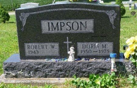 IMPSON, ROBERT W - Champaign County, Ohio | ROBERT W IMPSON - Ohio Gravestone Photos