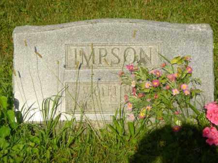 MARTIN IMPSON, VIOLET MAE - Champaign County, Ohio | VIOLET MAE MARTIN IMPSON - Ohio Gravestone Photos