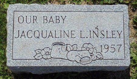 INSLEY, JACQUALINE L - Champaign County, Ohio | JACQUALINE L INSLEY - Ohio Gravestone Photos