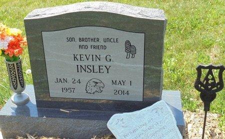 INSLEY, KEVIN GENE - Champaign County, Ohio | KEVIN GENE INSLEY - Ohio Gravestone Photos