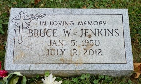 JENKINS, BRUCE W. - Champaign County, Ohio   BRUCE W. JENKINS - Ohio Gravestone Photos
