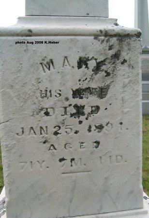 """JENKINS, MARY """"POLLY"""" - Champaign County, Ohio   MARY """"POLLY"""" JENKINS - Ohio Gravestone Photos"""