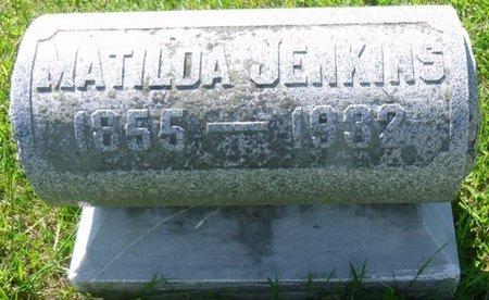 JENKINS, MATILDA - Champaign County, Ohio   MATILDA JENKINS - Ohio Gravestone Photos