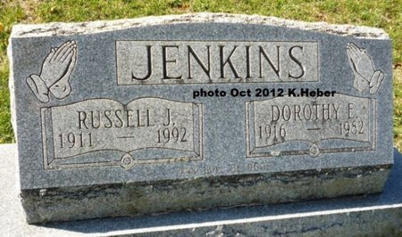JENKINS, DOROTHY ELLOREE - Champaign County, Ohio | DOROTHY ELLOREE JENKINS - Ohio Gravestone Photos