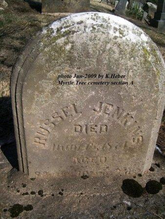 JENKINS, RUSSEL - Champaign County, Ohio | RUSSEL JENKINS - Ohio Gravestone Photos