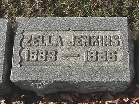 JENKINS, ZELLA - Champaign County, Ohio | ZELLA JENKINS - Ohio Gravestone Photos