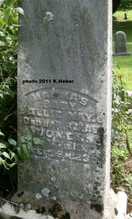 JONES, ALLIE MAY - Champaign County, Ohio | ALLIE MAY JONES - Ohio Gravestone Photos