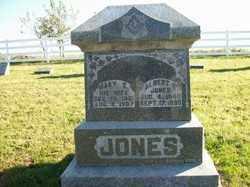 JONES, MARY E - Champaign County, Ohio | MARY E JONES - Ohio Gravestone Photos