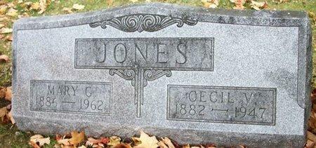 JONES, CECIL VICTOR - Champaign County, Ohio | CECIL VICTOR JONES - Ohio Gravestone Photos