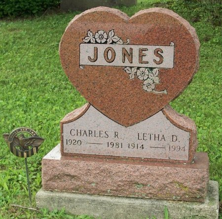 JONES, LETHA D - Champaign County, Ohio | LETHA D JONES - Ohio Gravestone Photos