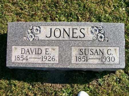 JONES, SUSAN C - Champaign County, Ohio   SUSAN C JONES - Ohio Gravestone Photos