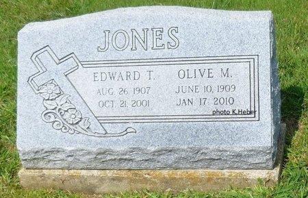 JONES, EDWARD THOMPSON - Champaign County, Ohio | EDWARD THOMPSON JONES - Ohio Gravestone Photos