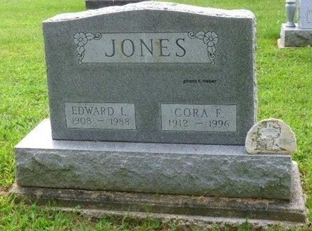 JONES, CORA FRANCES - Champaign County, Ohio | CORA FRANCES JONES - Ohio Gravestone Photos