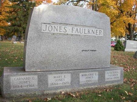 JONES, MARY EMMA - Champaign County, Ohio | MARY EMMA JONES - Ohio Gravestone Photos