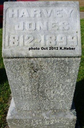 JONES, HARVEY - Champaign County, Ohio | HARVEY JONES - Ohio Gravestone Photos