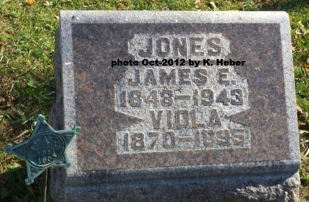 JONES, JAMES E - Champaign County, Ohio | JAMES E JONES - Ohio Gravestone Photos