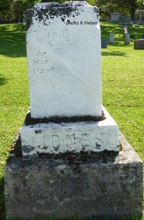 JONES, MINNIE - Champaign County, Ohio | MINNIE JONES - Ohio Gravestone Photos