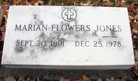 JONES, MARIAN - Champaign County, Ohio | MARIAN JONES - Ohio Gravestone Photos