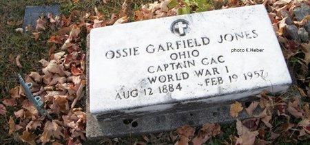 JONES, OSSIE GARFIELD - Champaign County, Ohio | OSSIE GARFIELD JONES - Ohio Gravestone Photos