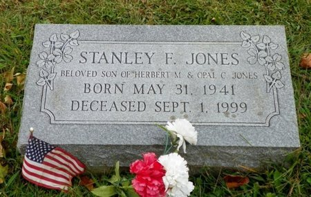 JONES, STANLEY F. - Champaign County, Ohio | STANLEY F. JONES - Ohio Gravestone Photos