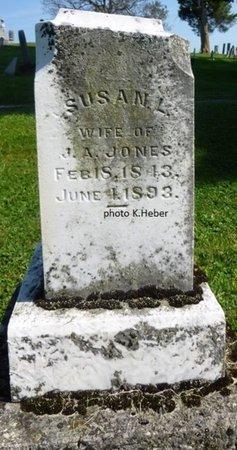 JONES, SUSAN L - Champaign County, Ohio | SUSAN L JONES - Ohio Gravestone Photos