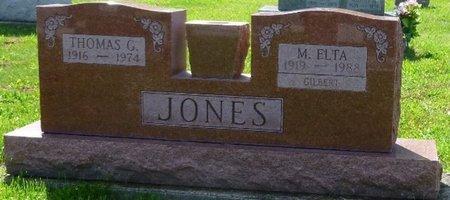 JONES, THOMAS G - Champaign County, Ohio | THOMAS G JONES - Ohio Gravestone Photos