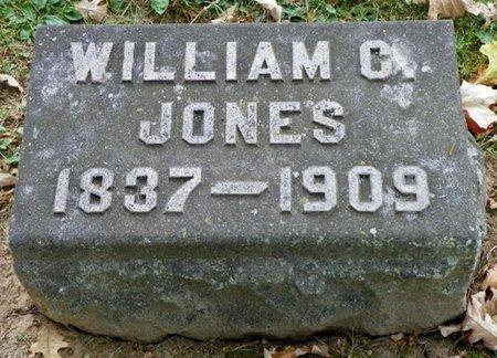 JONES, WILLIAM C. - Champaign County, Ohio | WILLIAM C. JONES - Ohio Gravestone Photos