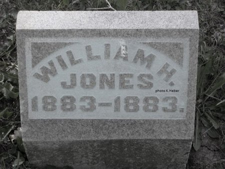 JONES, WILLIAM H - Champaign County, Ohio | WILLIAM H JONES - Ohio Gravestone Photos