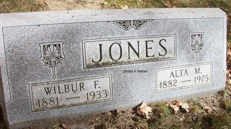 JONES, WILBUR FRANKLIN - Champaign County, Ohio | WILBUR FRANKLIN JONES - Ohio Gravestone Photos