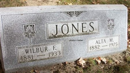 JONES, ALTA MAUDE - Champaign County, Ohio | ALTA MAUDE JONES - Ohio Gravestone Photos