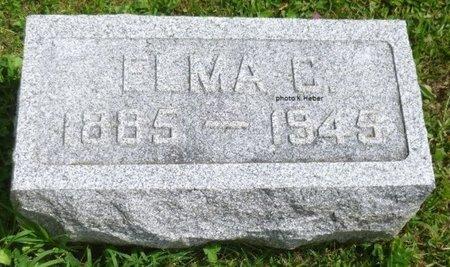 KIZER, ELMA C - Champaign County, Ohio   ELMA C KIZER - Ohio Gravestone Photos