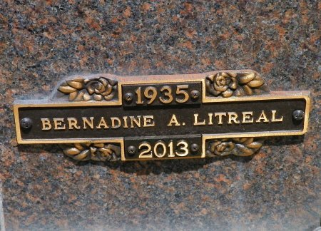 LITREAL, BERNADINE A. - Champaign County, Ohio | BERNADINE A. LITREAL - Ohio Gravestone Photos