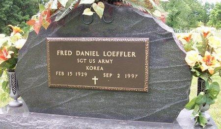 LOEFFLER, FRED DANIEL - Champaign County, Ohio | FRED DANIEL LOEFFLER - Ohio Gravestone Photos