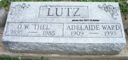 LUTZ, ADELAIDE G - Champaign County, Ohio | ADELAIDE G LUTZ - Ohio Gravestone Photos