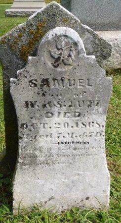 LUTZ, SAMUEL - Champaign County, Ohio   SAMUEL LUTZ - Ohio Gravestone Photos