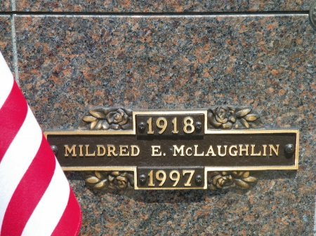 MCLAUGHLIN, MILDRED E. - Champaign County, Ohio | MILDRED E. MCLAUGHLIN - Ohio Gravestone Photos
