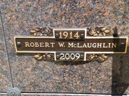 MCLAUGHLIN, ROBERT W. - Champaign County, Ohio   ROBERT W. MCLAUGHLIN - Ohio Gravestone Photos