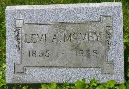 MCVEY, LEVI A. - Champaign County, Ohio | LEVI A. MCVEY - Ohio Gravestone Photos