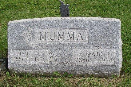 MUMMA, HOWARD - Champaign County, Ohio   HOWARD MUMMA - Ohio Gravestone Photos