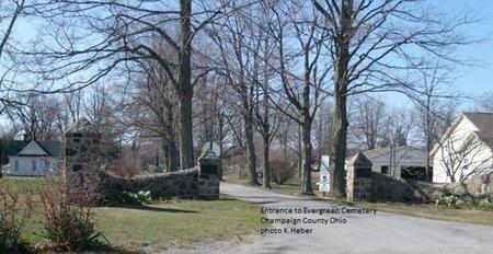 MILLER NEHER, NETTIE E - Champaign County, Ohio | NETTIE E MILLER NEHER - Ohio Gravestone Photos