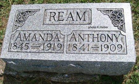 REAM, AMANDA B - Champaign County, Ohio | AMANDA B REAM - Ohio Gravestone Photos