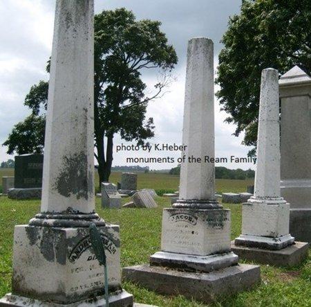 REAM, MONUMENTS - Champaign County, Ohio | MONUMENTS REAM - Ohio Gravestone Photos