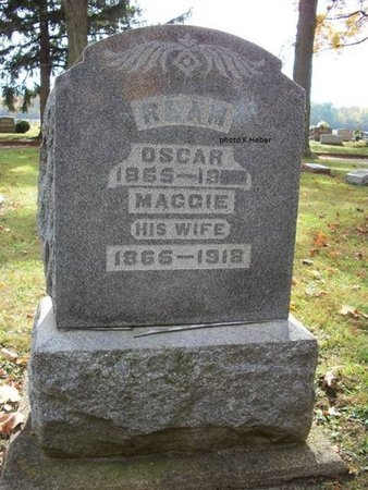 "REAM, MARGARET FLORENCE ""MAGGIE"" - Champaign County, Ohio 