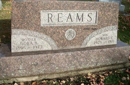 REAMS, HOWARD CARL - Champaign County, Ohio | HOWARD CARL REAMS - Ohio Gravestone Photos
