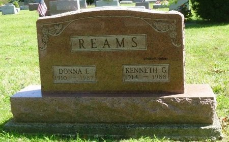 REAMS, KENNETH GERALD - Champaign County, Ohio | KENNETH GERALD REAMS - Ohio Gravestone Photos