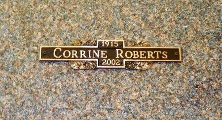 ROBERTS, CORRINE - Champaign County, Ohio   CORRINE ROBERTS - Ohio Gravestone Photos