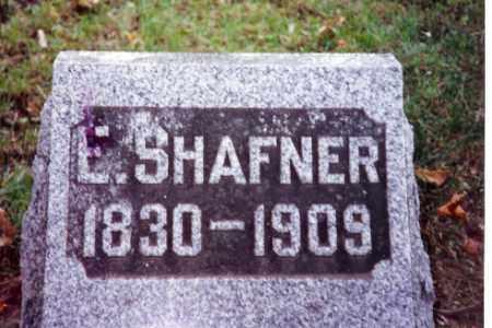 SHAFNER, ELIZABETH - Champaign County, Ohio | ELIZABETH SHAFNER - Ohio Gravestone Photos