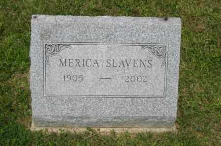 SLAVENS, MERICA F - Champaign County, Ohio | MERICA F SLAVENS - Ohio Gravestone Photos